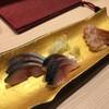 鮨きのした - 料理写真:しめ鯖、がす海老
