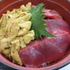 魚喰いの大間んぞく - 料理写真:ウニマグロ丼
