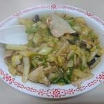 丸玉食堂 - 肉飯 550円