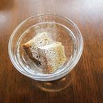 BREAD&DISHES MUGINOKI - デザートはシフォンケーキでした。