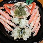 道の駅舞鶴港とれとれセンター - 料理写真:舞鶴カニ