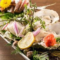 産地直送のこだわり鮮魚!絶品牡蠣料理も◎