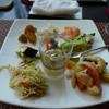 テンクウ - 料理写真:ビュッフェの前菜