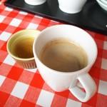 野菜ビュッフェ ツナギィーナ - コーヒーもおいしい