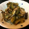 喜来楽 - 料理写真:ゴーヤ、煮干し、豚肉、豆鼓の炒め物