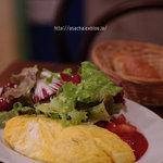 SOT L'Y LAISSE - ズッキーニとトマトのオムレツ