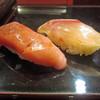 九段下 寿司政 旬八海 - 料理写真:中トロ ハタ