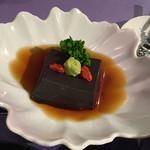 田むら 銀かつ亭 - 胡麻豆腐