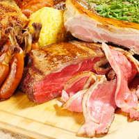 10種類のお肉と30種類以上の野菜のガーデンコース