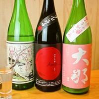 【数々の日本酒をお楽しみください♪】