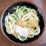 高柳食堂 - 料理写真:かけうどん