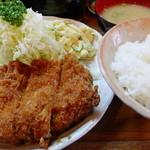 とんかつ 大幸 - 料理写真:上ロースカツ定食