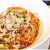 らーめん子うさぎ - 料理写真:汁無し担々麺+3辛+温泉玉子 950+100+100円 旨味、香りに溢れた汁無し担々麺です♪