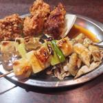 五味鳥 - 料理写真:盛合せです☆ 2017-0321訪問