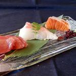 旬鮮台所ZEN - 料理写真:本日のお刺身ちょっと盛り