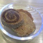 ネイチャー・キッサ - 今日、食べたクッキー。ざくざくしていておいしかった~♪