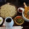 そば家 平朗 - 料理写真:ざる蕎麦と小天丼