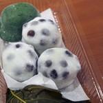 64335511 - 豆餅と草餅