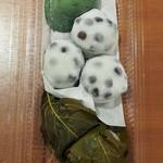 64335543 - 桜餅、豆餅、草餅