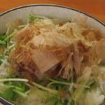 麺中夢中 - ご飯アップ