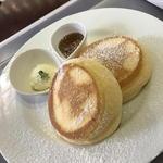 ニノーバル カフェ - 料理写真:幸せのパンケーキ(ダブル)