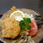 かねしろ亭 - 魚のフライとコロッケ