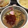 東京アンダーグラウンドラーメン 頑者 - 料理写真:辛さに深みがあり、太い味のつけ汁でした('17/03/23)