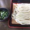手打ちうどん 彦江 - 料理写真:ざるうどん2玉(*´д`*)350円