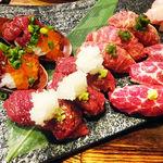 肉バルで肉寿司ジョッキー -
