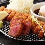 厚切り牛かつ専門店 神戸 牛かつ亭 - 和風おろしポン酢牛かつ膳