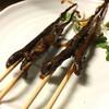 朝起 - 料理写真:サンショウ魚焼き。内臓のとこは独特の臭みがある。