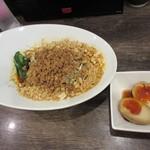 雲林坊 - 汁なし担々麺、味玉