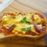 64359783 - ピザトースト。