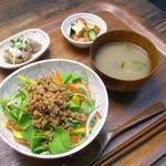 野菜とつぶつぶ アプサラカフェ - サラダビビンバ