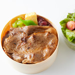 焼肉居酒屋 マルウシミート - 厳選黒毛和牛の一枚リブロースのデラックス弁当