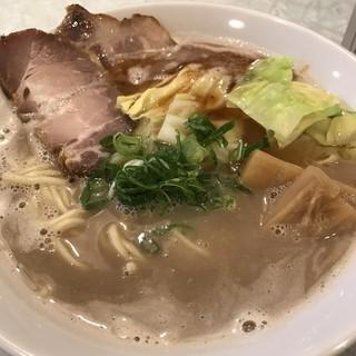 らーめん 五ノ神精肉店 - 料理写真:【2017.3.21】豚骨らーめん¥750