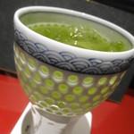 割烹 伊とう - 緑茶割り