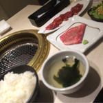 牛国屋 - 料理写真:ランチセット