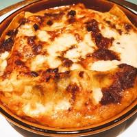 【週替ランチ】3種のチーズとナスのラザニア
