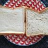 はせぱん - 料理写真:2017年2月:右が玄米食パンで左が食パン