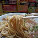 中華そば 奥屋 - 麺リフト