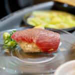 立喰☆焼肉 瑞園 - 炙った大トロ寿し
