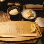 鶏けん - 料理写真:お通しはカブの漬物