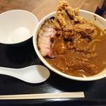 丹行味素 - 2017年2月 がっつりカレー麺 990円