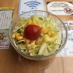 ケニーズハウスカフェ - ランチセットについてくるサラダ