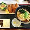 荒木伝次郎 - 料理写真:カキフライセット