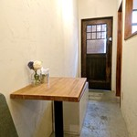 Creperie Tirol - 一応テーブルもあります