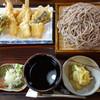 そば処 亀屋 - 料理写真:天ざる+大盛り1900円