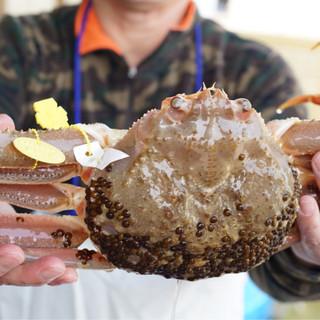川喜 - 料理写真:頂く松葉蟹