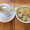 インド・ネパールカレー ミテリ - 料理写真:スープとサラダ
